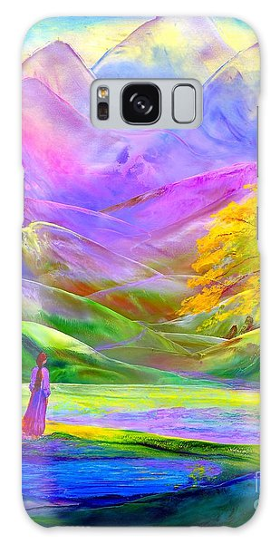Heather Galaxy Case - Misty Mountains, Fall Color And Aspens by Jane Small