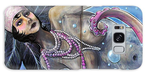 The Pearl Mermaid Galaxy Case