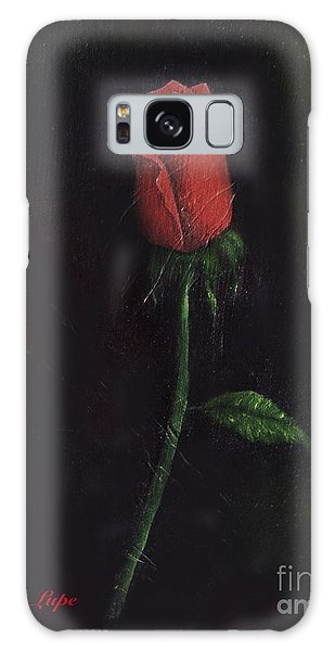 The Perfect Rose Galaxy Case