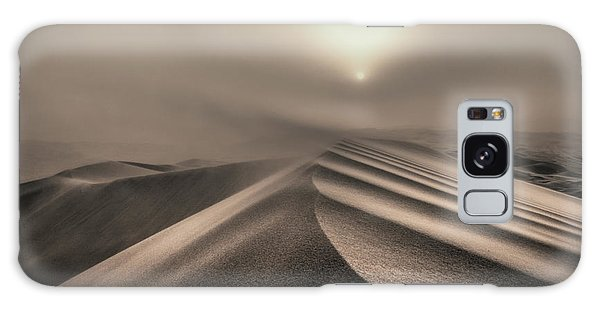 Storming Galaxy Case - The Perfect Sandstorm by Michel Guyot