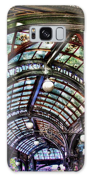The Pergola Ceiling In Pioneer Square Galaxy Case by David Patterson