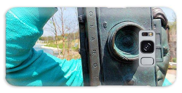 The Photographer Galaxy Case by Carolyn Repka