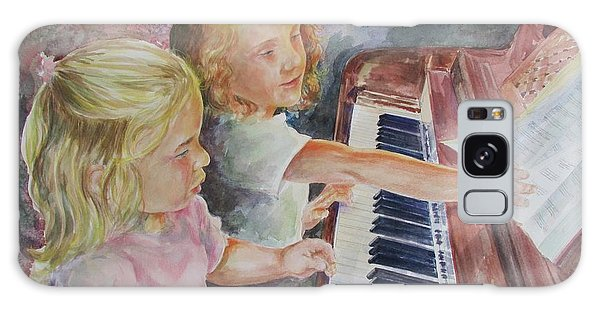 The Piano Lesson Galaxy Case by Gloria Turner