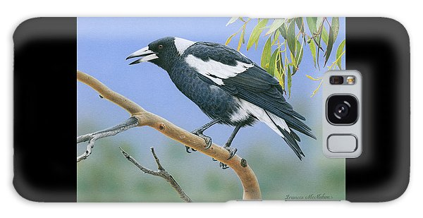 The Pied Piper - Australian Magpie Galaxy Case