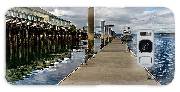 The Pier At The Dock Tacoma Wa Galaxy Case by Rob Green