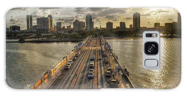 The Pier In Saint Petersburg Florida Galaxy Case by Timothy Lowry