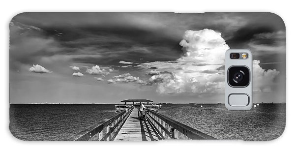 Handrail Galaxy Case - The Pier by Marvin Spates