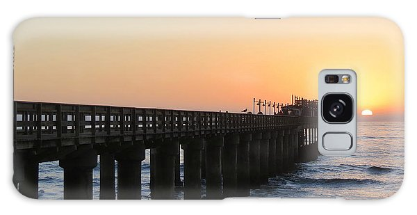 Galaxy Case featuring the photograph The Pier by Ramona Johnston