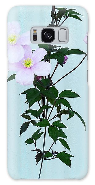 The Pink Clematis Galaxy Case by Steve Taylor