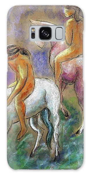 The Pink Horse Galaxy Case
