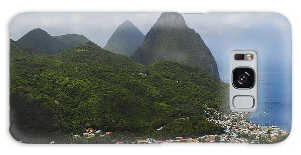 The Pitons And Soufriere Galaxy Case