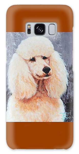 Attentive Poodle Galaxy Case