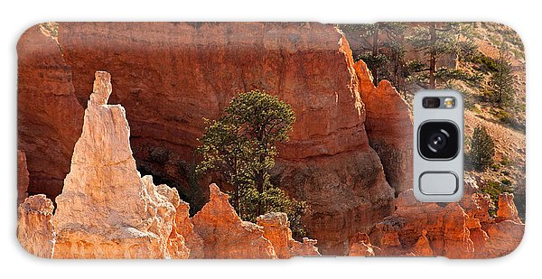 The Popesunrise Point Bryce Canyon National Park Galaxy Case