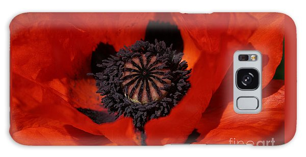 The Poppy Is Also A Flower Galaxy Case