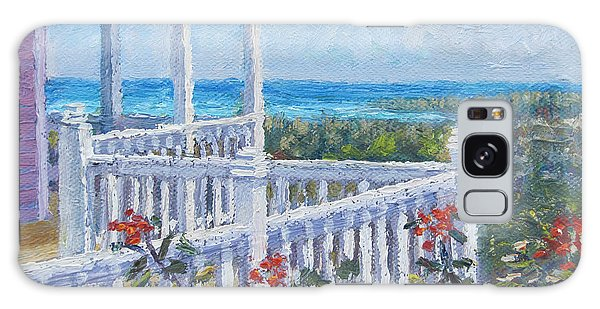 Eleuthera Art Galaxy Case - The Porch by Ritchie Eyma