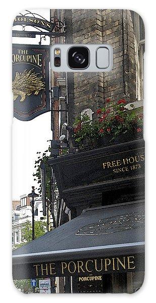 The Porcupine Pub Galaxy Case by Cheri Randolph