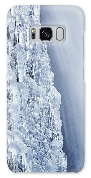 Galaxy Case featuring the photograph The Power Of Cold by Jon Ares