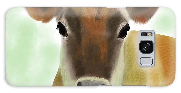 The Pretty Jersey Cow  Galaxy Case
