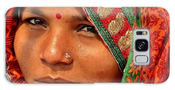 The Pride Of Indian Womenhood Galaxy Case