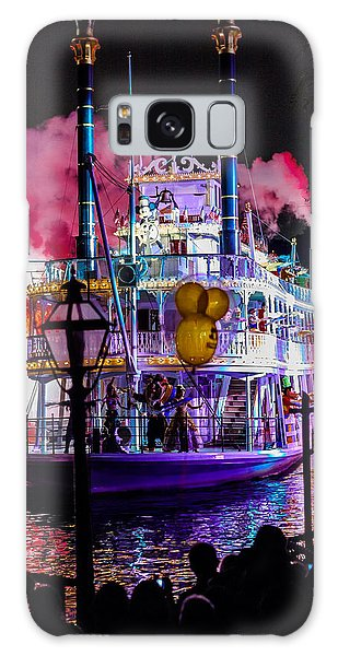 The Mark Twain Disneyland Steamboat  Galaxy Case