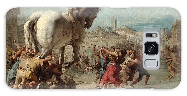 The Procession Of The Trojan Horse Into Troy Galaxy Case