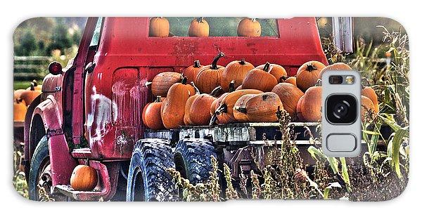 The Pumpkin Hauler Galaxy Case