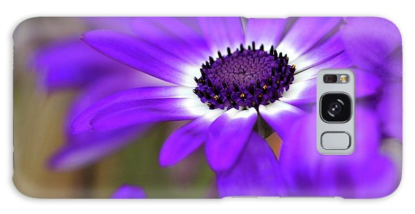The Purple Daisy Galaxy Case