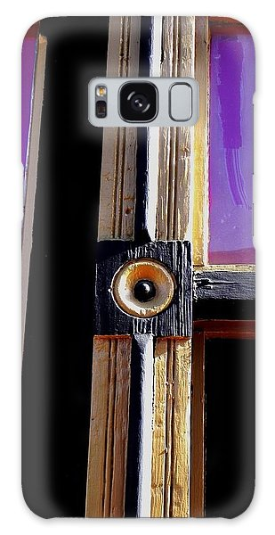 The Purple Door Galaxy Case by Peggy Stokes