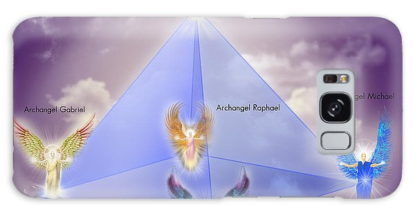 The Pyramid Of The Archangels Galaxy Case