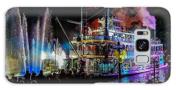 The Mark Twain Disneyland Steamboat  Galaxy Case