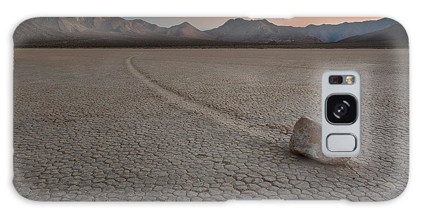 The Racetrack At Death Valley National Park Galaxy Case