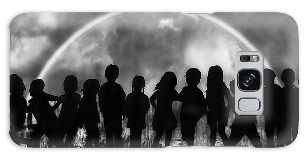Rainbow Galaxy Case - The Rainbow Of Childhood by Yvette Depaepe
