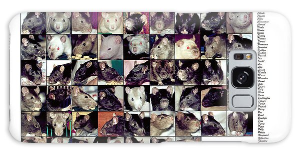 The Rat Retreat Yearbook Galaxy Case
