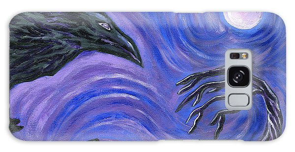 The Raven Galaxy Case by Roz Abellera Art