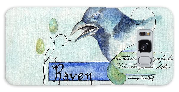 The Raven Galaxy Case by Tamyra Crossley