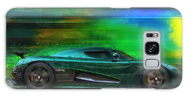 The Real Green Monster Galaxy Case by Alan Greene
