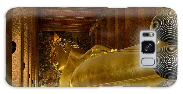 The Reclining Buddha Galaxy Case