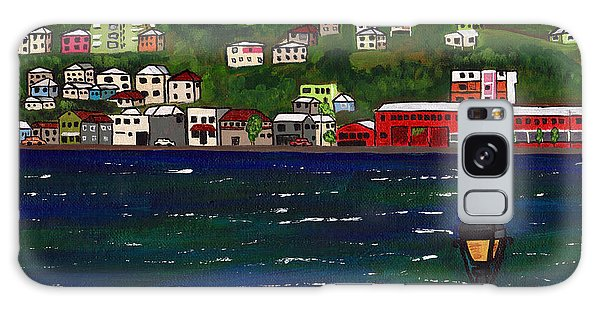 The Red And White Fishing Boat Carenage Grenada Galaxy Case