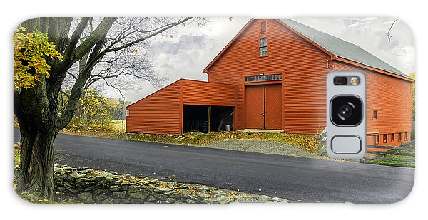 The Red Barn At The John Greenleaf Whittier Birthplace Galaxy Case