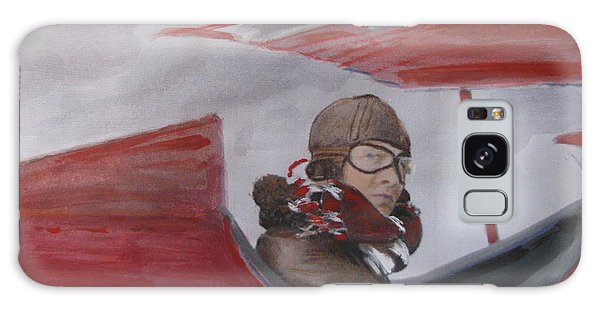 The Red Baron Galaxy Case by Vikram Singh