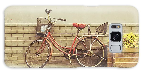Bike Galaxy Case - The Red Bicycle by Jillian Audrey Photography