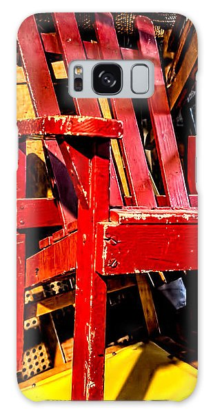 The Red Chair Galaxy Case