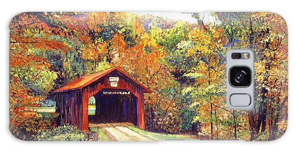 The Red Covered Bridge Galaxy Case