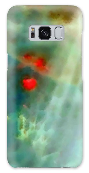 The Red Dancers Galaxy Case