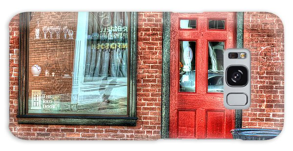 The Red Door - Great Barrington Galaxy Case