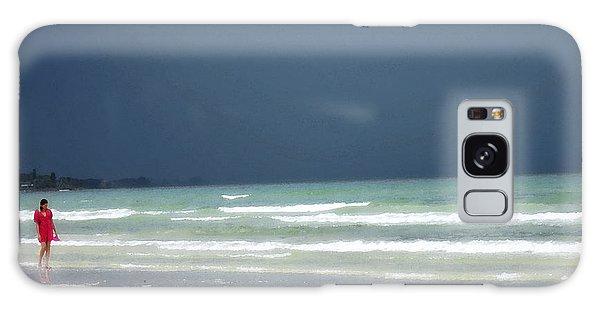 Bradenton Galaxy Case - The Red Dress - Beach Art By Sharon Cummings by Sharon Cummings