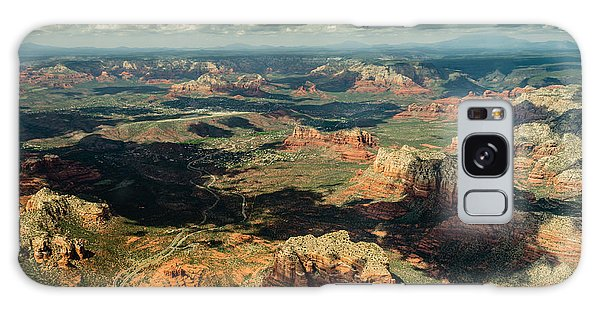 The Red Rocks Of Sedona Galaxy Case by Alan Marlowe