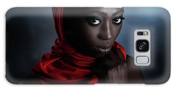 Scarf Galaxy Case - The Red Scarf by Peppe