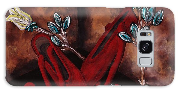 The Red Shoes Galaxy Case