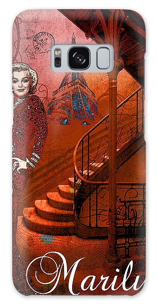 The Red Stair Galaxy Case